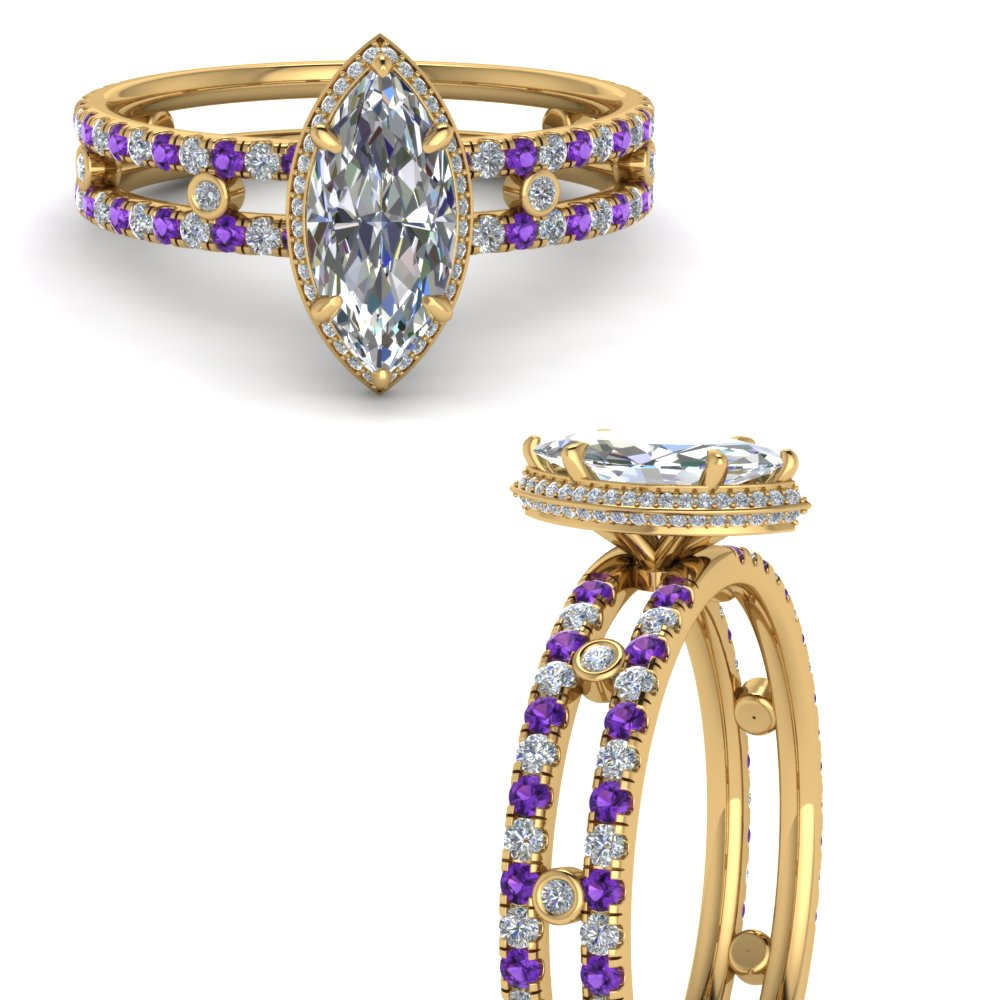 split-band-hidden-marquise-halo-diamond-engagement-ring-with-purple-topaz-in-FD9171MQRGVITOANGLE3-NL-YG