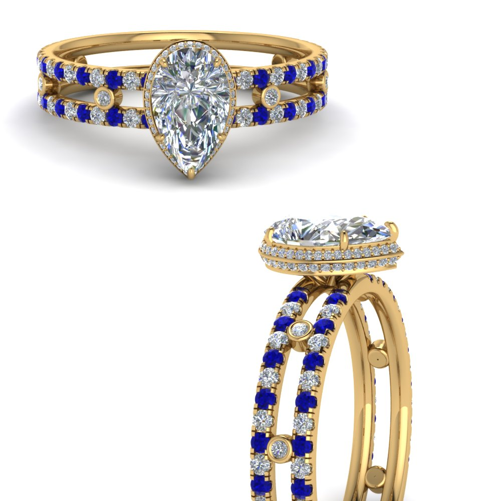 split-band-hidden-pear-halo-diamond-engagement-ring-with-sapphire-in-FD9171PERGSABLANGLE3-NL-YG