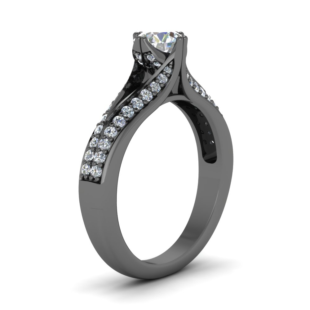 High Setting Wedding Rings