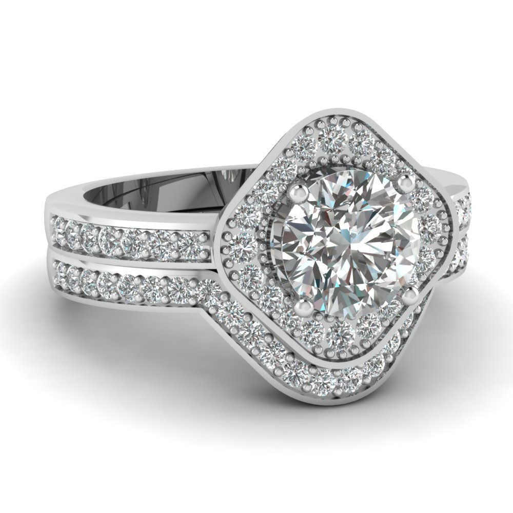 Get 14k White Gold Womens Wedding Rings| Fascinating Diamonds