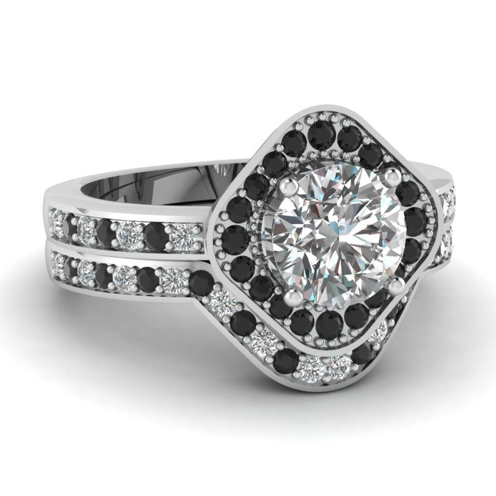round tw floating in diamond square engagement rings platinum p wedding ring ct