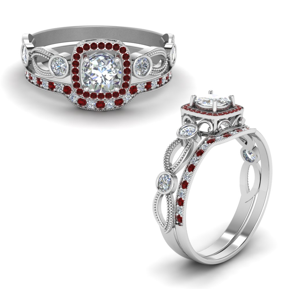 square-vintage-diamond-bridal-set-with-ruby-in-FD8590ROGRUDRANGLE1-NL-WG