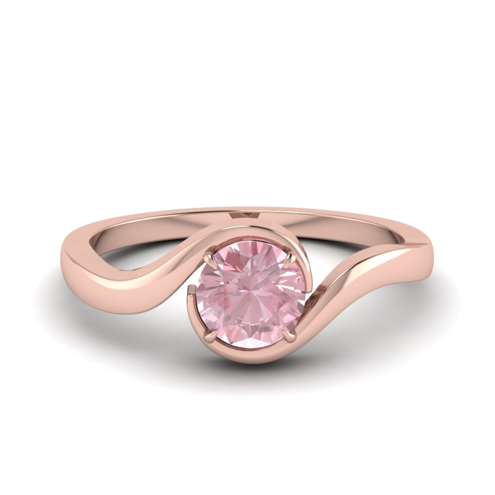 Affordable & Unique Morganite Engagement Rings | Fascinating Diamonds