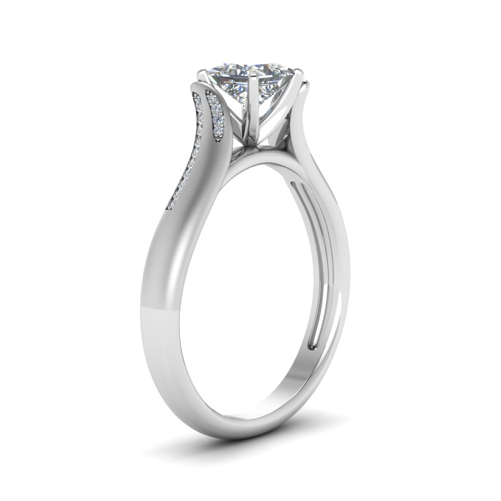 High Setting Diamond Rings