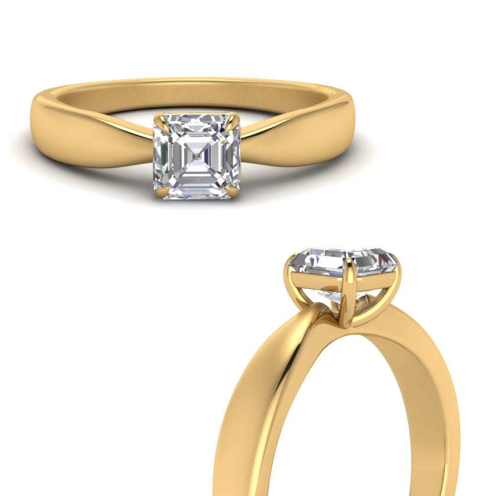 tapered-bow-asscher-cut-solitaire-diamond-ring-in-FD1031ASRANGLE3-NL-YG