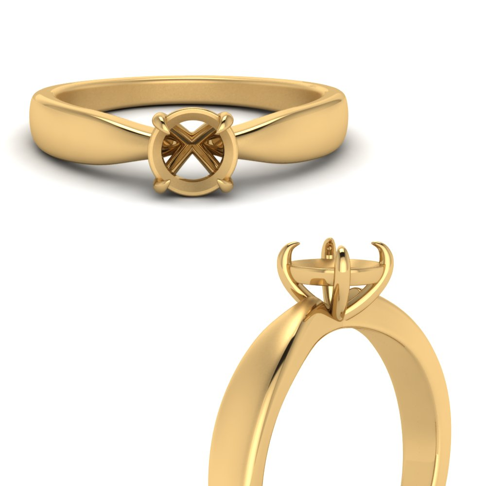 tapered-bow-semi-mount-solitaire-ring-in-FD1031SMRANGLE3-NL-YG
