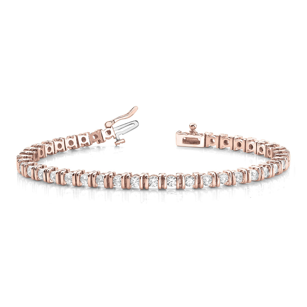 Tennis Bar Diamond Women Bracelet