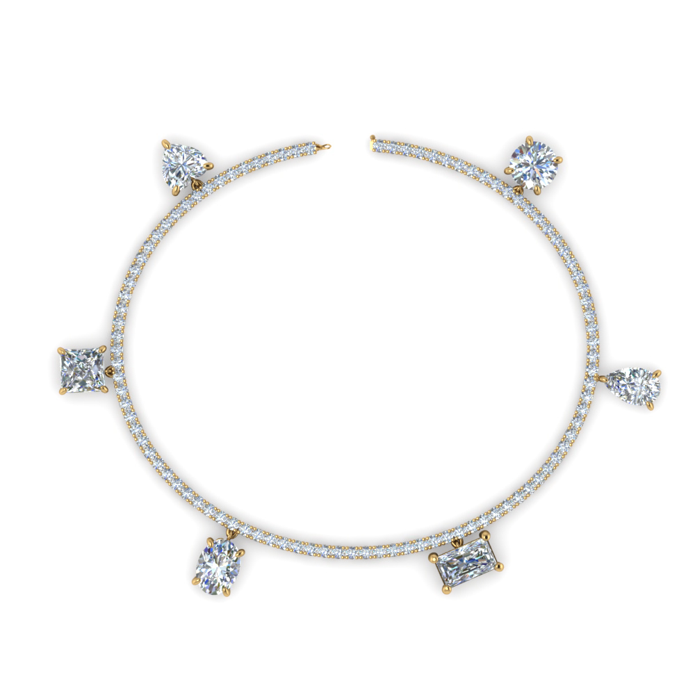 Charm Tennis Diamond Bracelet
