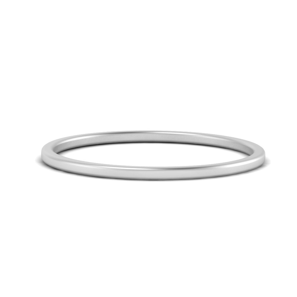 Thin Plain Wedding Band