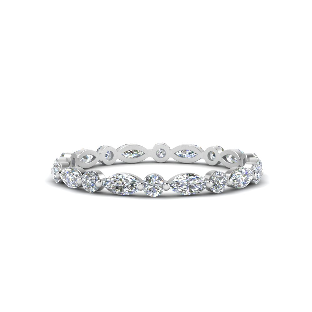 thin-marquise-and-round-eternity-wedding-band-in-FDEWB9403-NL-WG