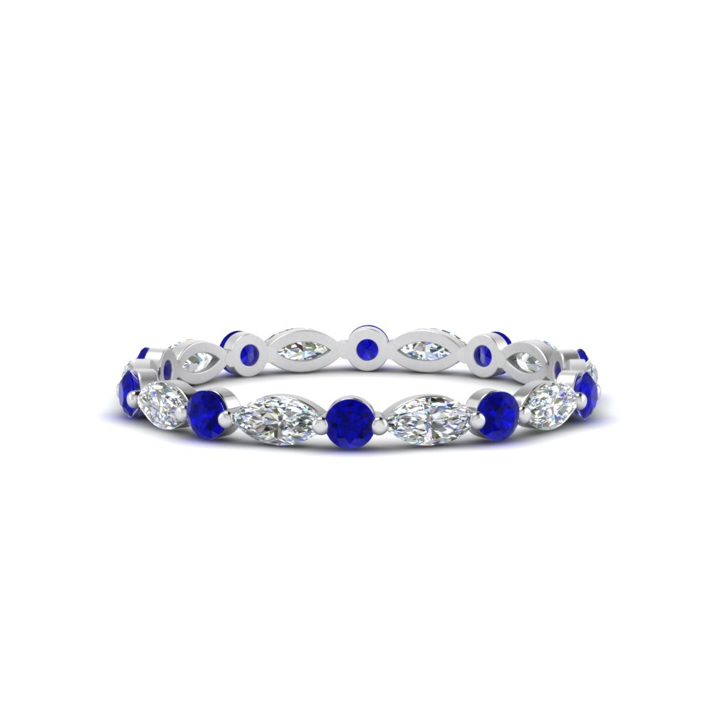thin-marquise-and-round-eternity-wedding-band-with-sapphire-in-FDEWB9403GSABL-NL-WG