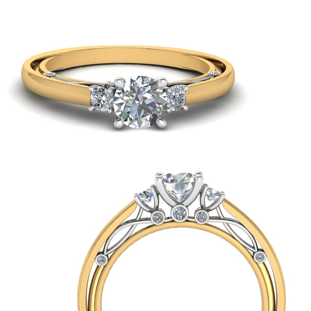 three-round-shaped-two-tone-diamond-ring-in-FD123373RORANGLE3-NL-YG