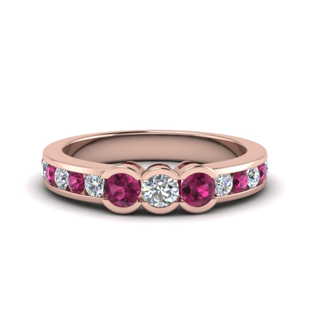 three-stone-diamond-band-with-pink-sapphire-in-FDENS461BGSADRPI-NL-RG