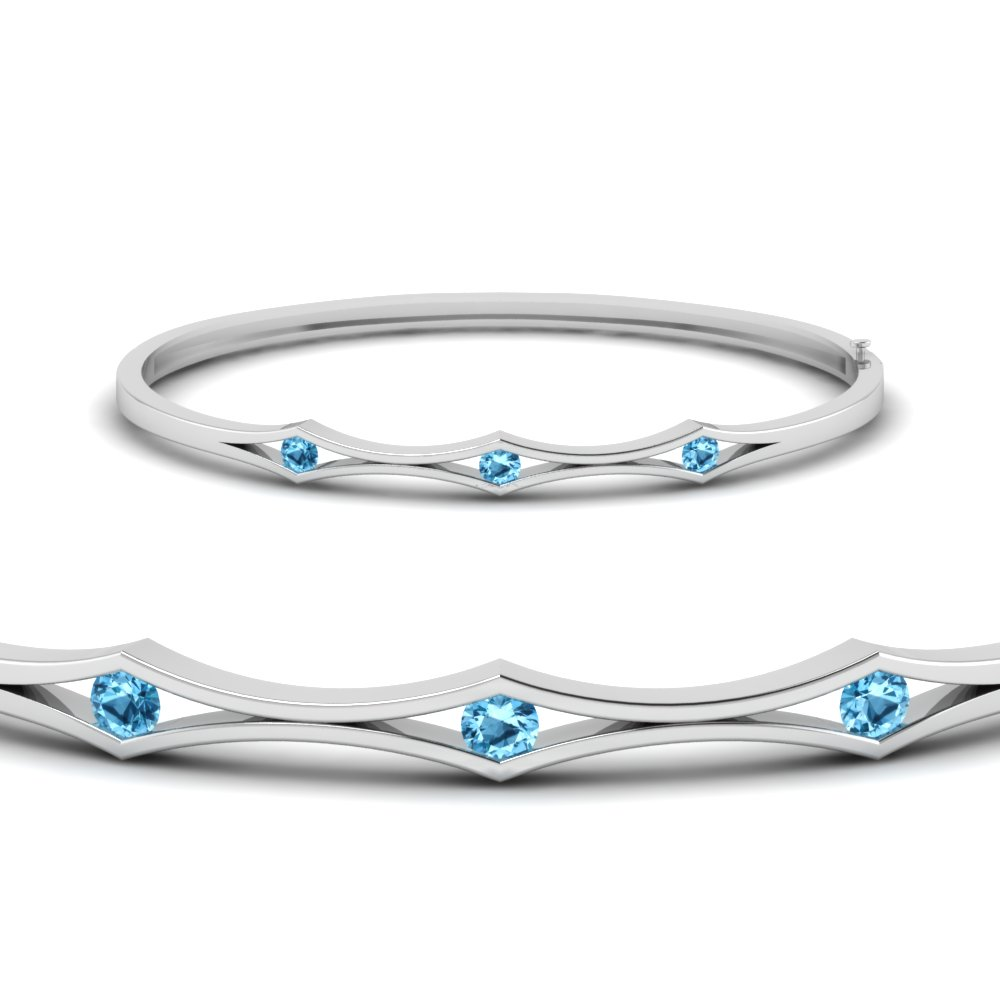 Blue Topaz Womens Jewelry