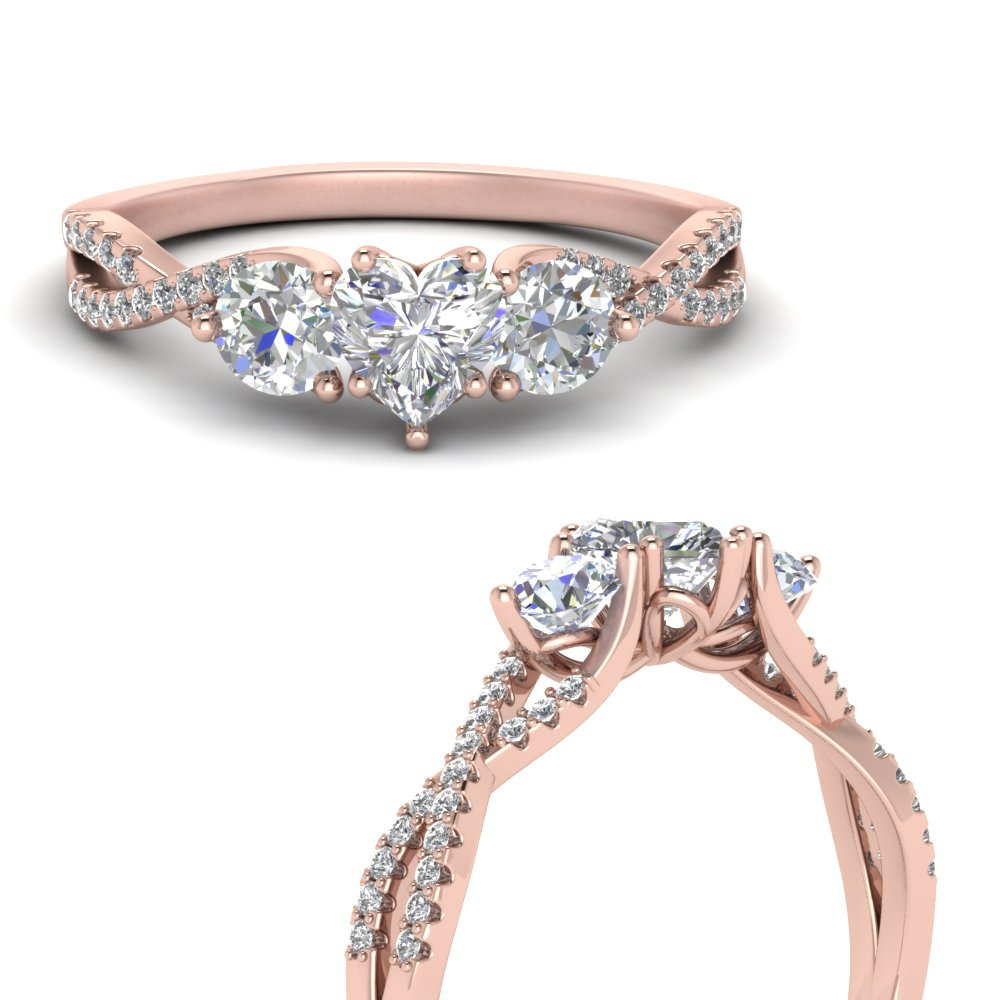 trellis-twisted-3-stone-heart-shaped-diamond-ring-in-14K-rose-gold-FD123699HTRANGLE3-NL-RG