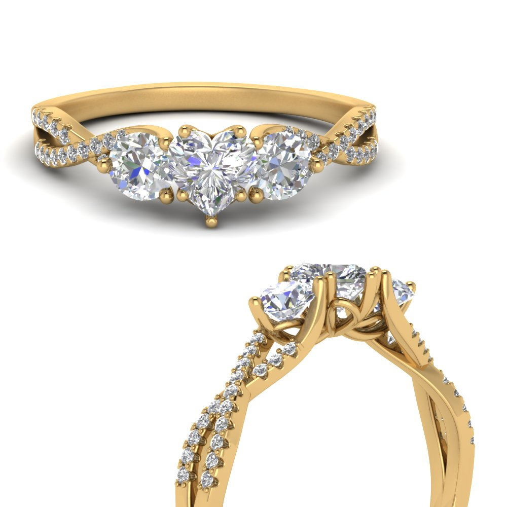 trellis-twisted-3-stone-heart-shaped-diamond-ring-in-14K-yellow-gold-FD123699HTRANGLE3-NL-YG
