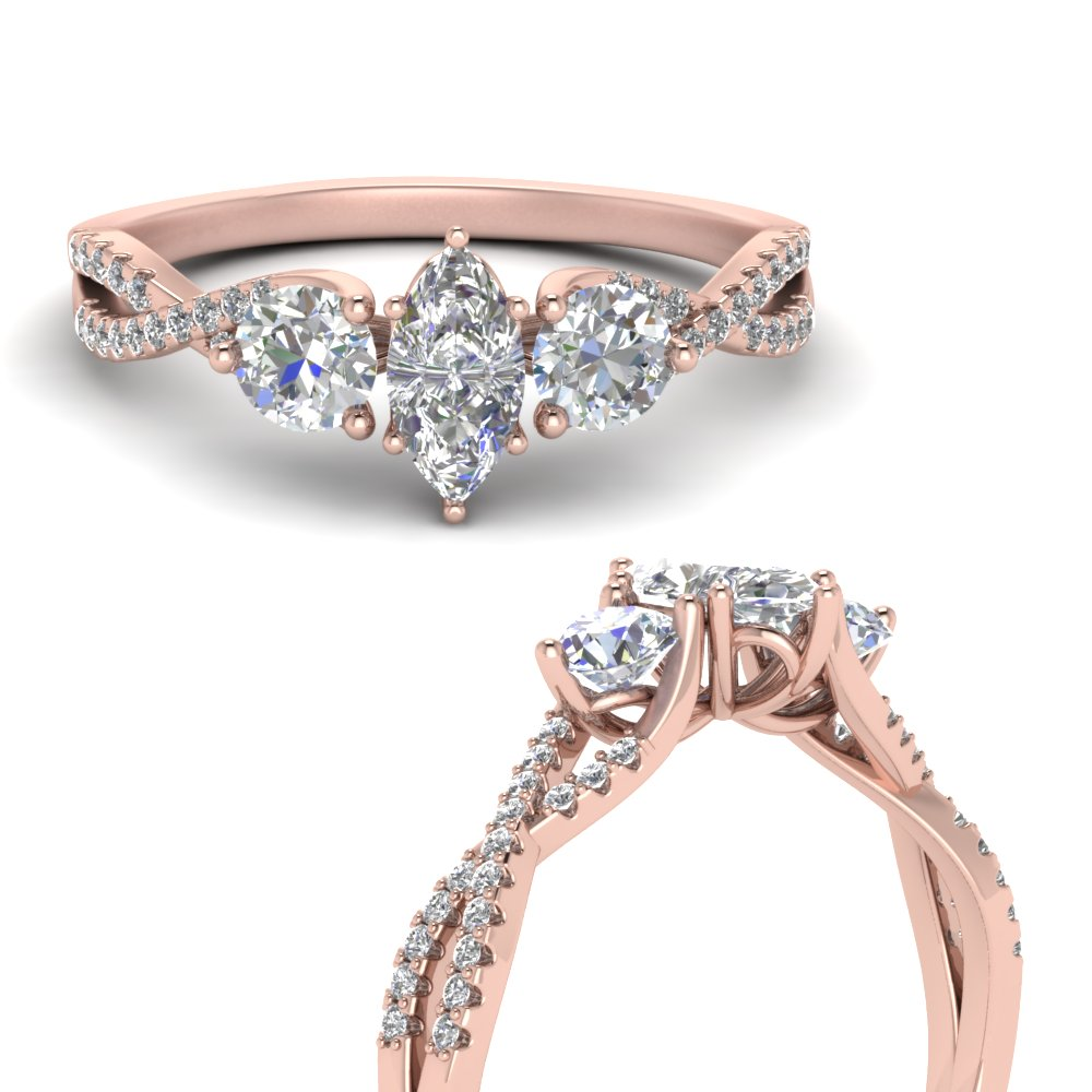 trellis-twisted-3-stone-marquise-cut-diamond-ring-in-14K-rose-gold-FD123699MQRANGLE3-NL-RG