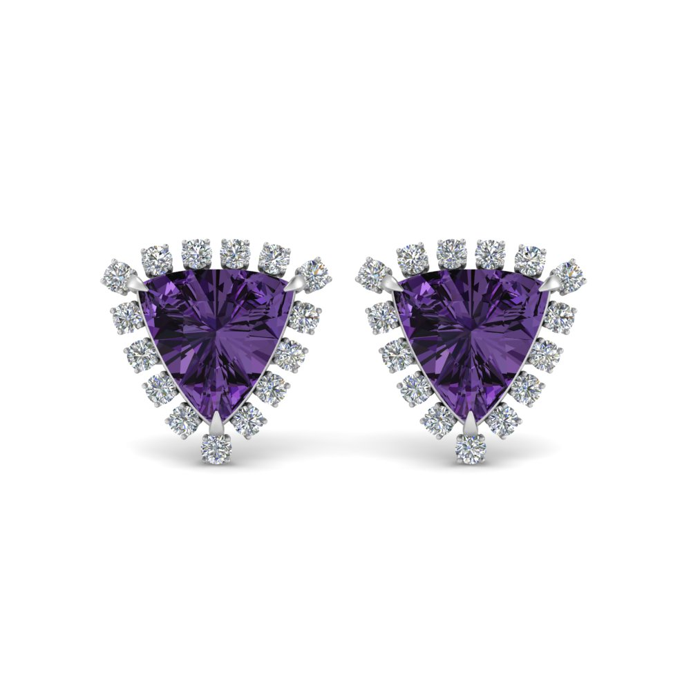 trillion-halo-diamond-stud-earrings-with-amethyst-in-FDEAR9471GVITO-NL-WG