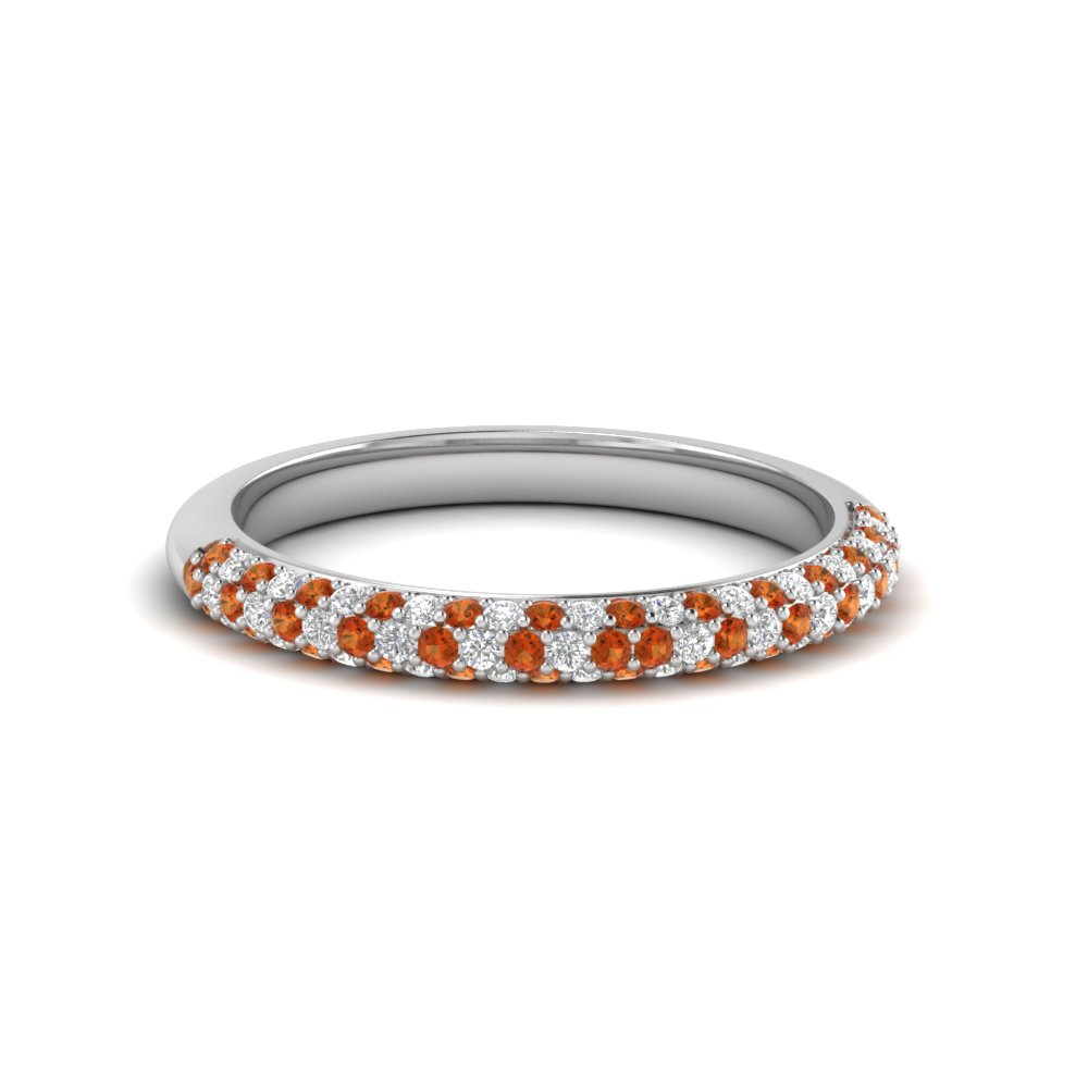 Micro Pave Wedding Band