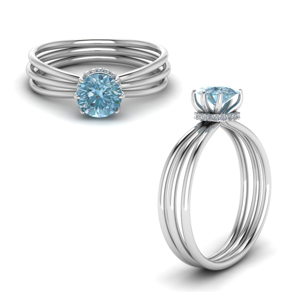 aquamarine under halo split engagement ring in FD8634RORGAQANGLE1 NL WG.jpg