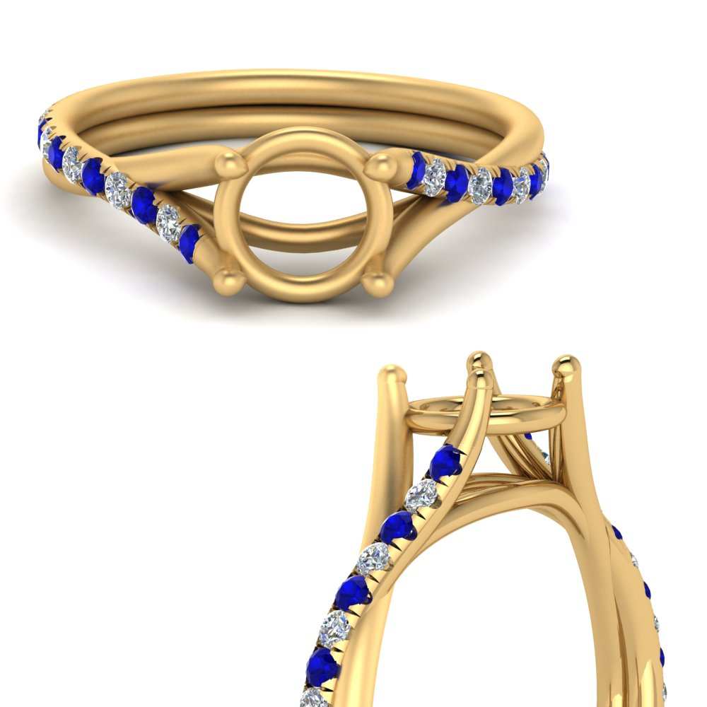 twisted-cathedral-semi-mount-diamond-ring-with-sapphire-in-FD9216SMRGSABLANGLE3-NL-YG