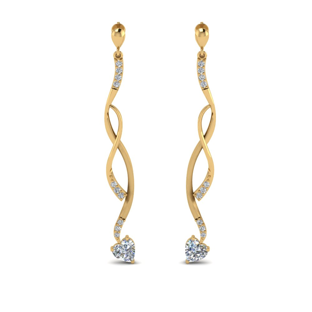 twisted-drop-heart-diamond-earring-in-FDEAR8806-NL-YG