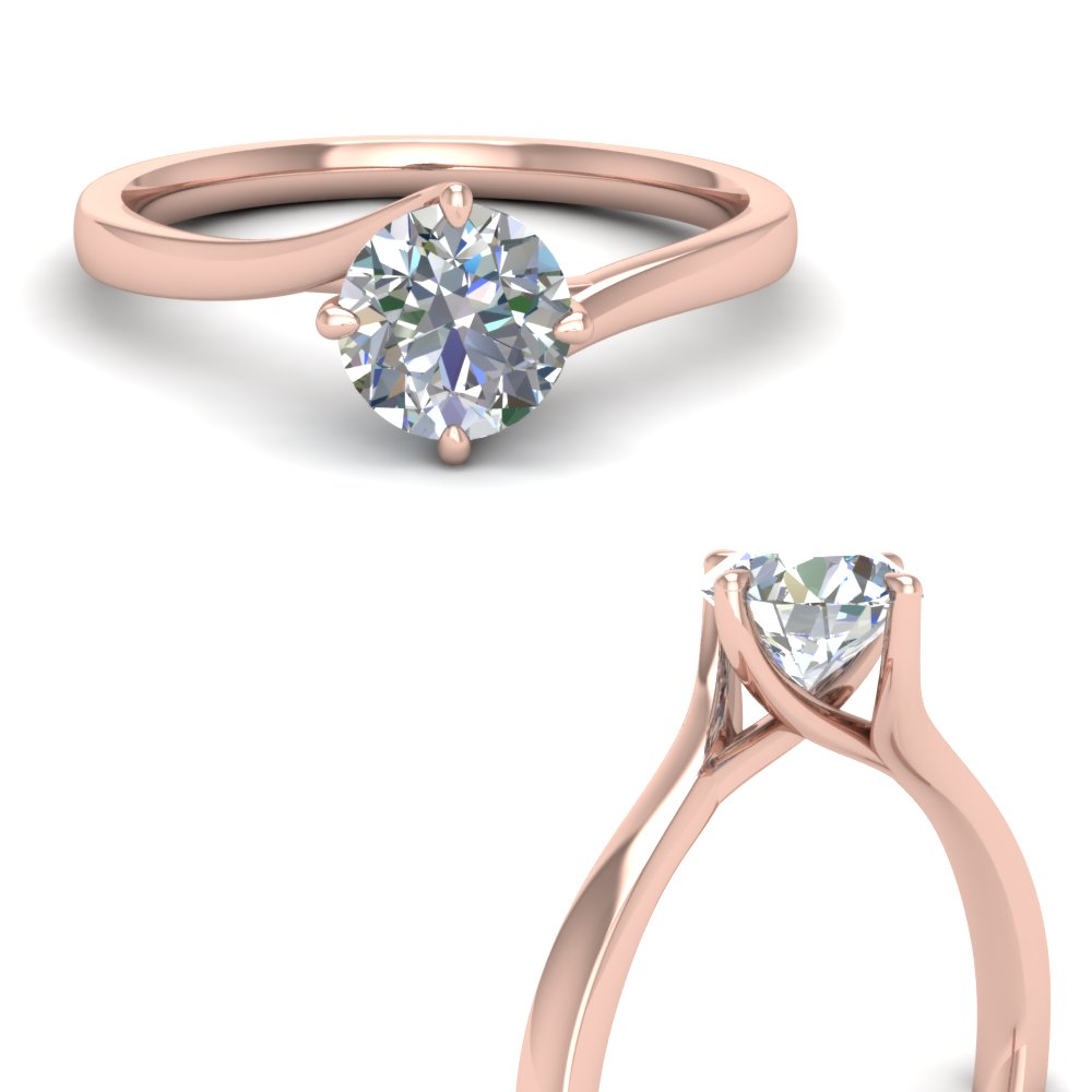 twisted round cut solitaire engagement ring in FDENR9009RORANGLE3 NL RG.jpg