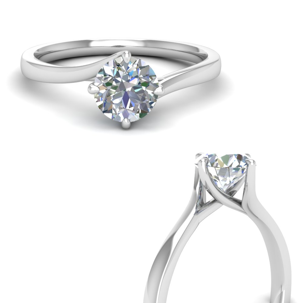 twisted round cut solitaire engagement ring in FDENR9009RORANGLE3 NL WG.jpg