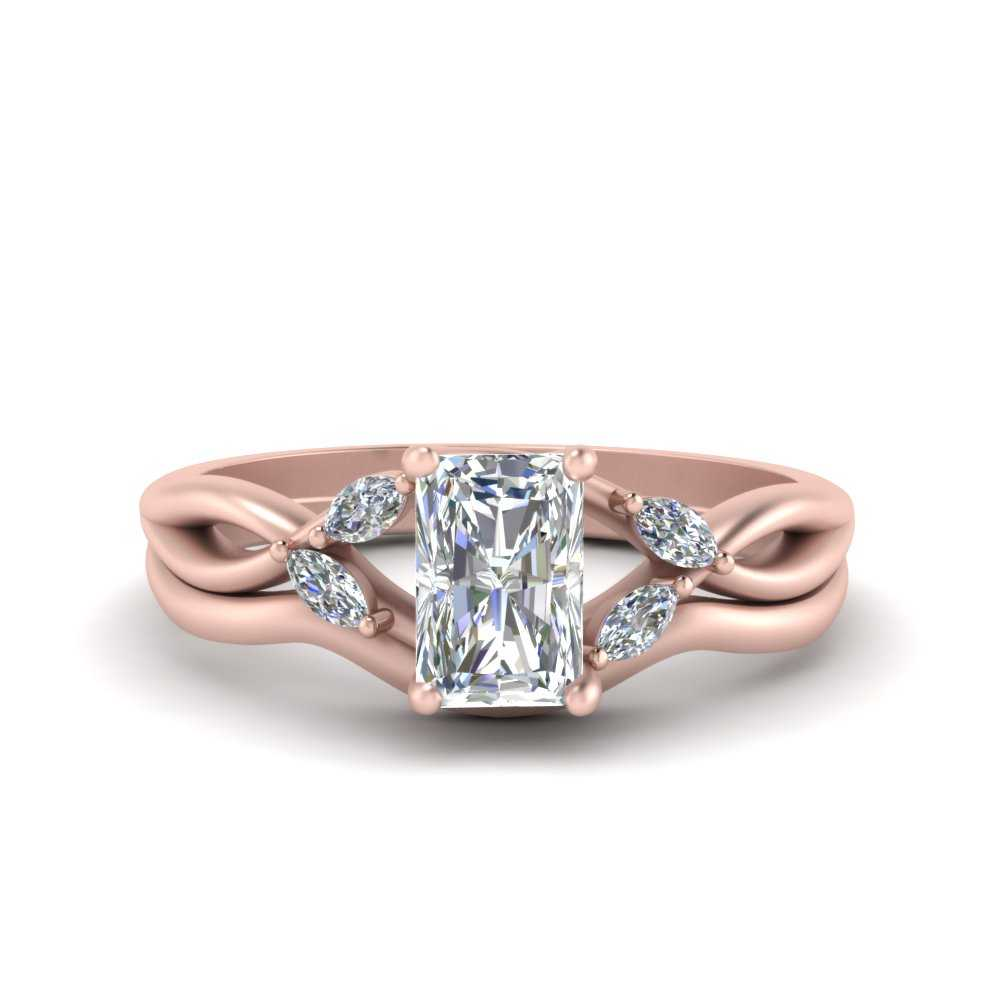 twisted-vine-radiant-cut-bridal-diamond-ring-set-with-plain-shank-in-FD8300RAB1-NL-RG