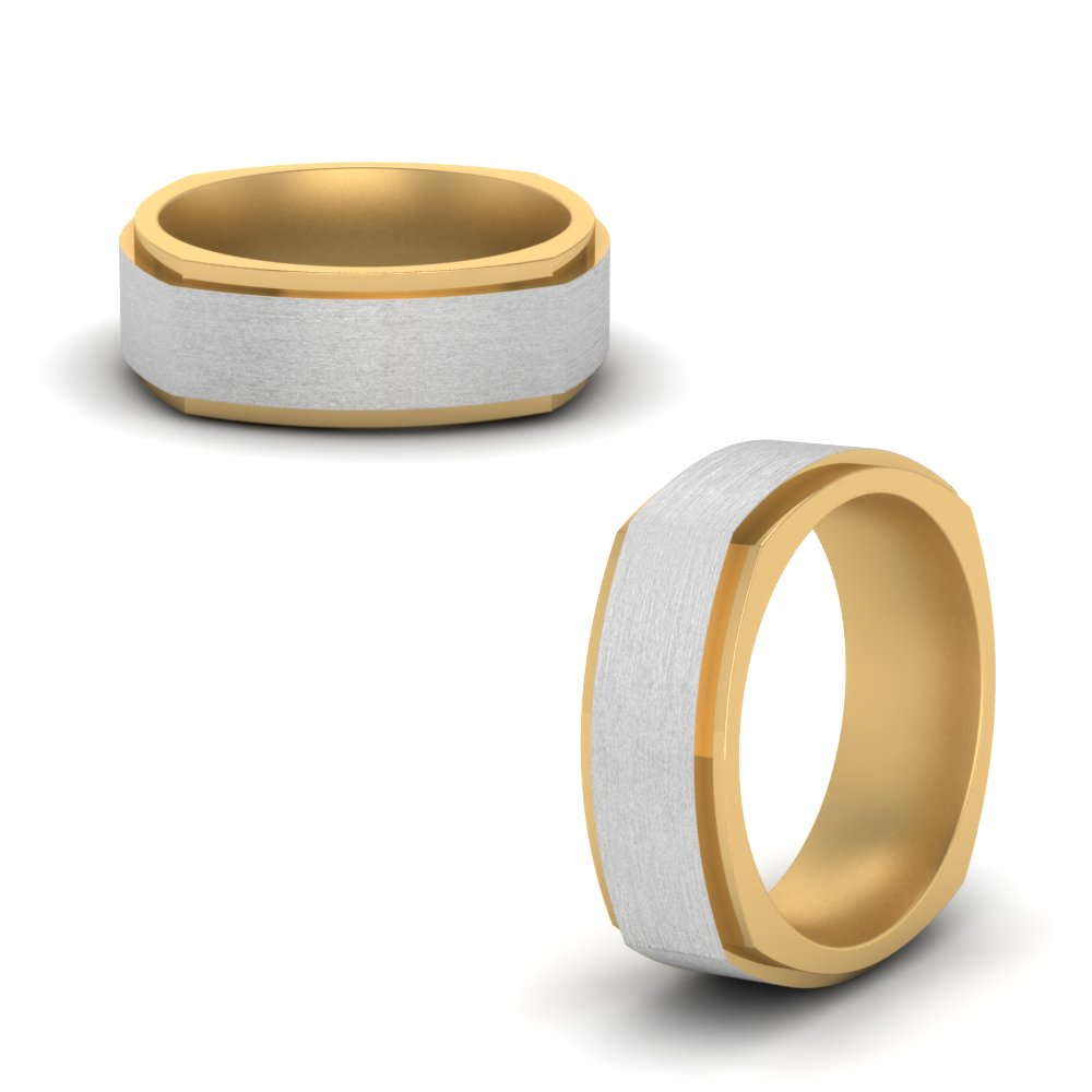 Multi Gold Wedding Band