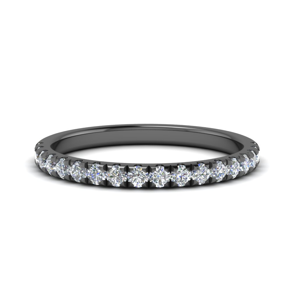 Affordable Black Gold Diamond Band