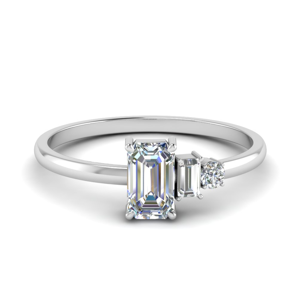 Unconventional Diamond Ring For Women
