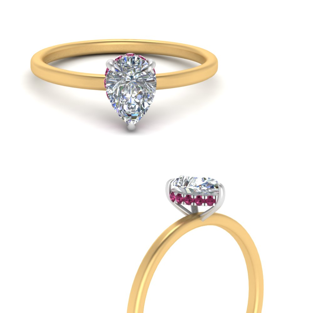 under-halo-pear-petite-pink-sapphire-two-tone-engagement-ring-in-FD9359TPERGSADRPIANGLE3-NL-YG