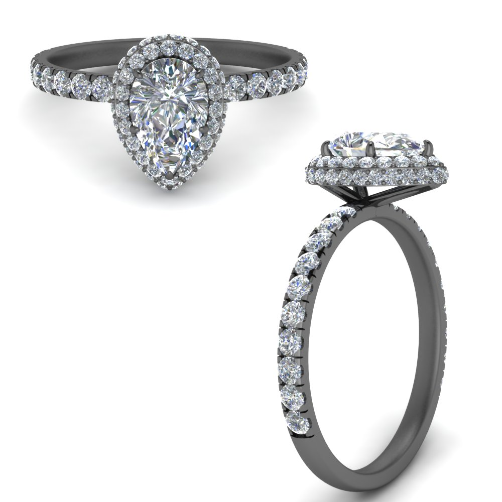 under halo petite pear shaped diamond engagement ring in FD9137PERANGLE3 NL BG.jpg