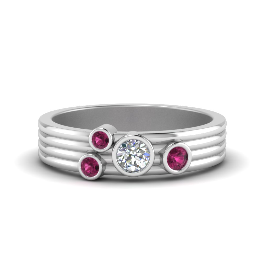 unique-bezel-set-womens-diamond-band-with-pink-sapphire-in-FD9098BGSADRPI-NL-WG