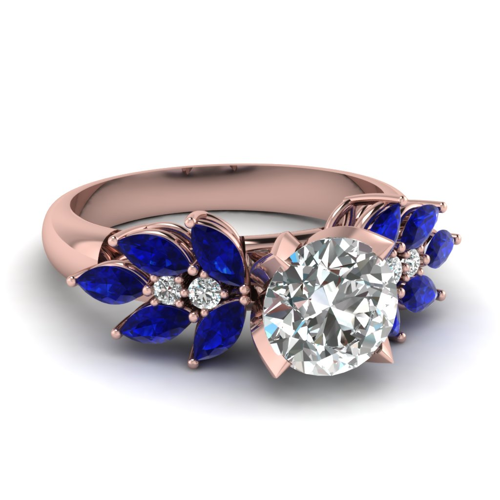 Classic Marquise Sapphire Ring
