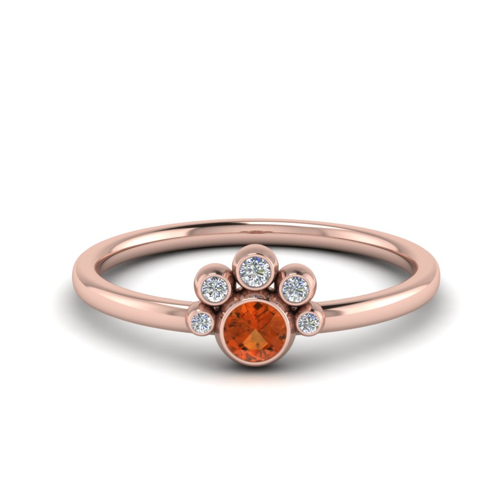 unusual-orange-sapphire-bezel-set-engagement-ring-in-FD72035RORGOS-NL-RG