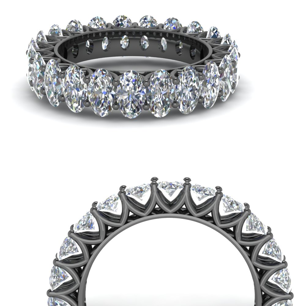 v prong 5.75 ct. oval shaped diamond eternity band in FD123391OV( 5.00MM X 3.00MM )ANGLE3 NL BG.jpg