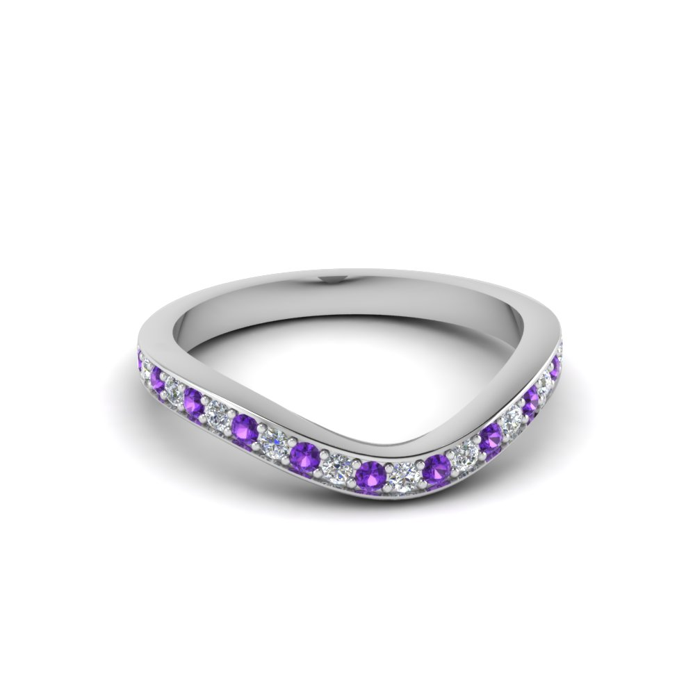 Purple Topaz Custom Band