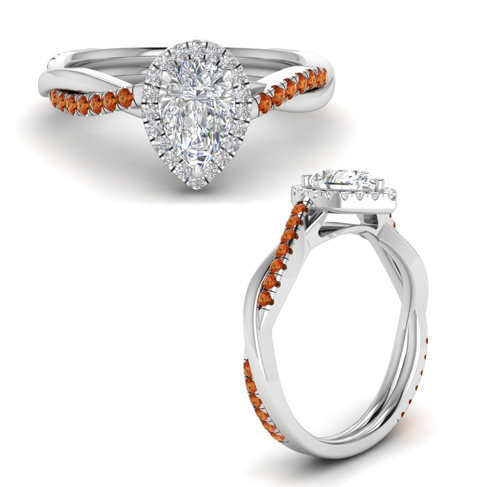 vine-pear-halo-diamond-engagement-ring-with-orange-sapphire-in-FD9212PERGSAORANGLE3-NL-WG