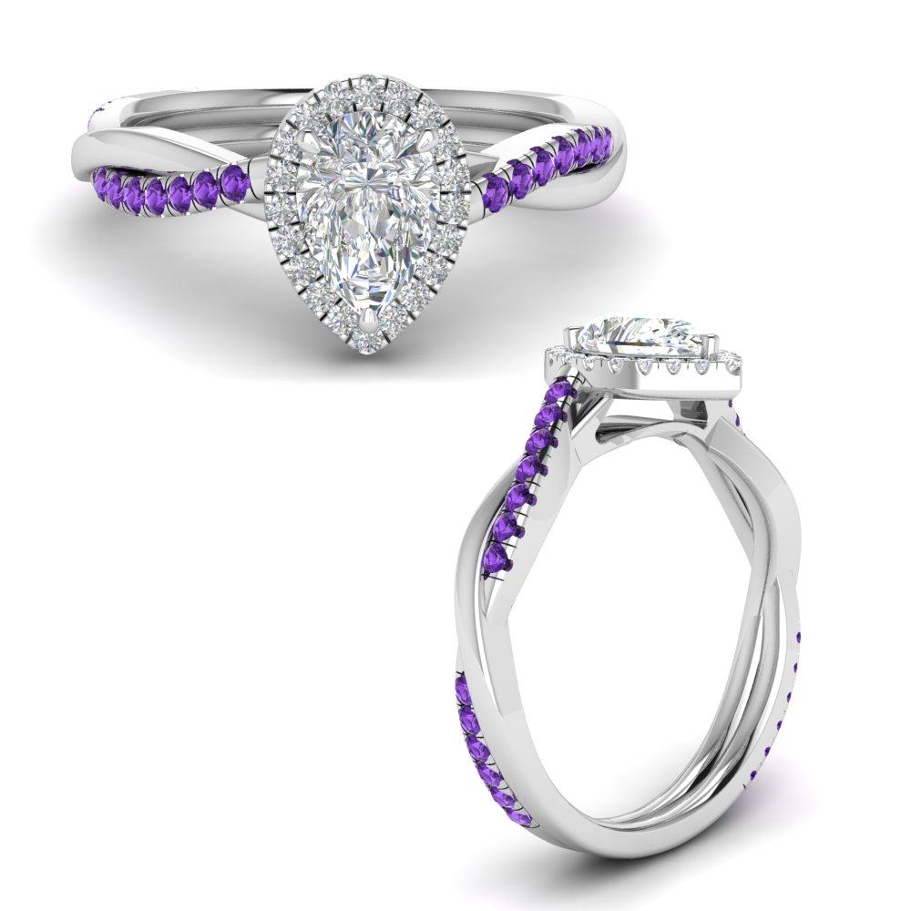 vine-pear-halo-moissanite-engagement-ring-with-purple-topaz-in-FD9212PERGVITOANGLE3-NL-WG