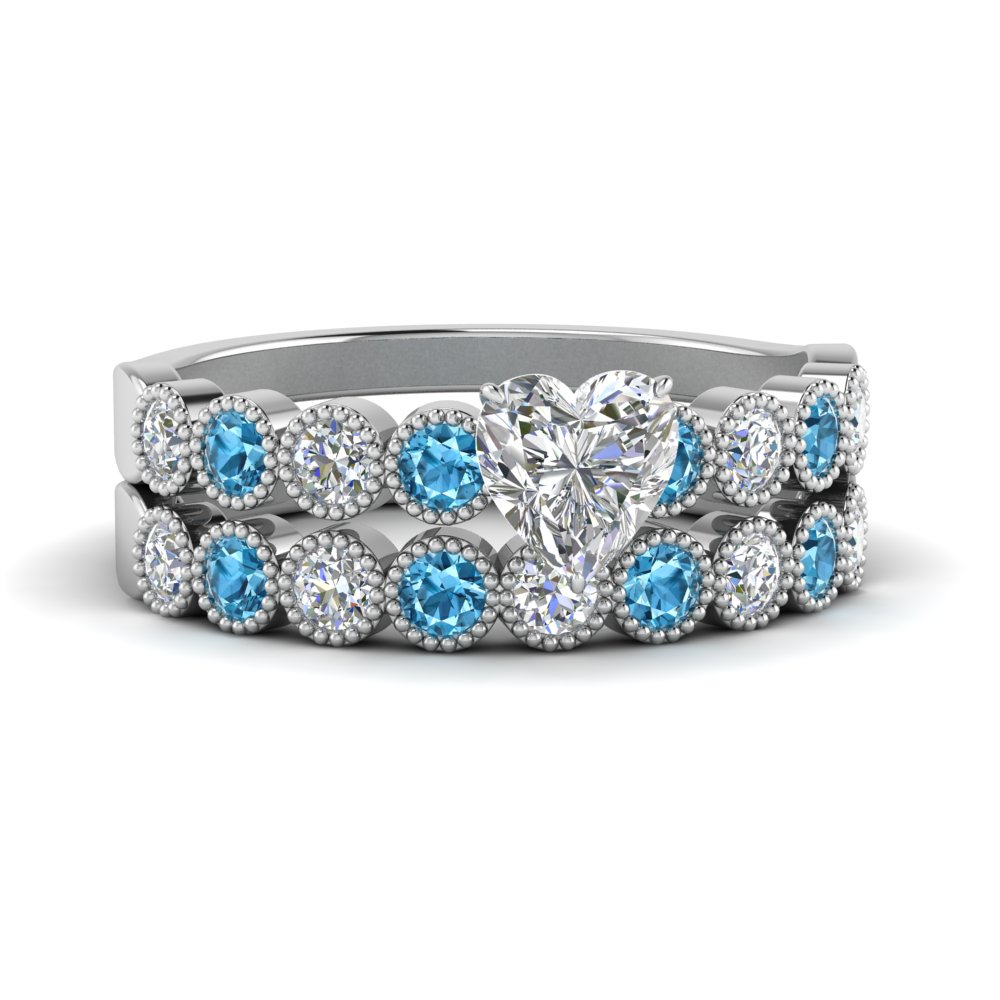 vintage-bezel-set-heart-diamond-ring-and-band-with-blue-topaz-in-FD9337HTGICBLTO-NL-WG