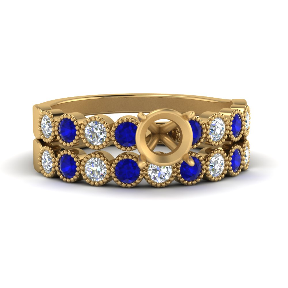 vintage-bezel-set-semi-mount-diamond-ring-and-band-with-sapphire-in-FD9337SMGSABL-NL-YG