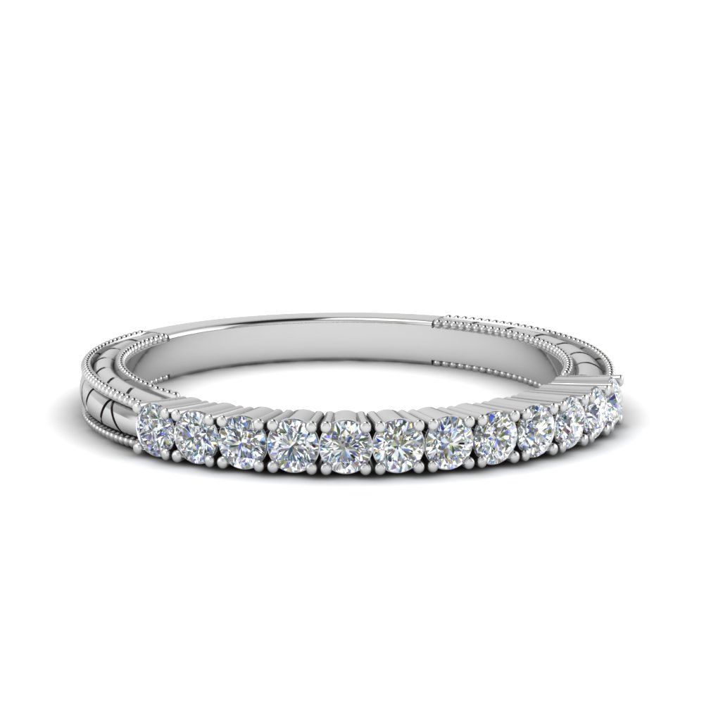 vintage delicate diamond wedding band in FDENS3228B NL WG.jpg