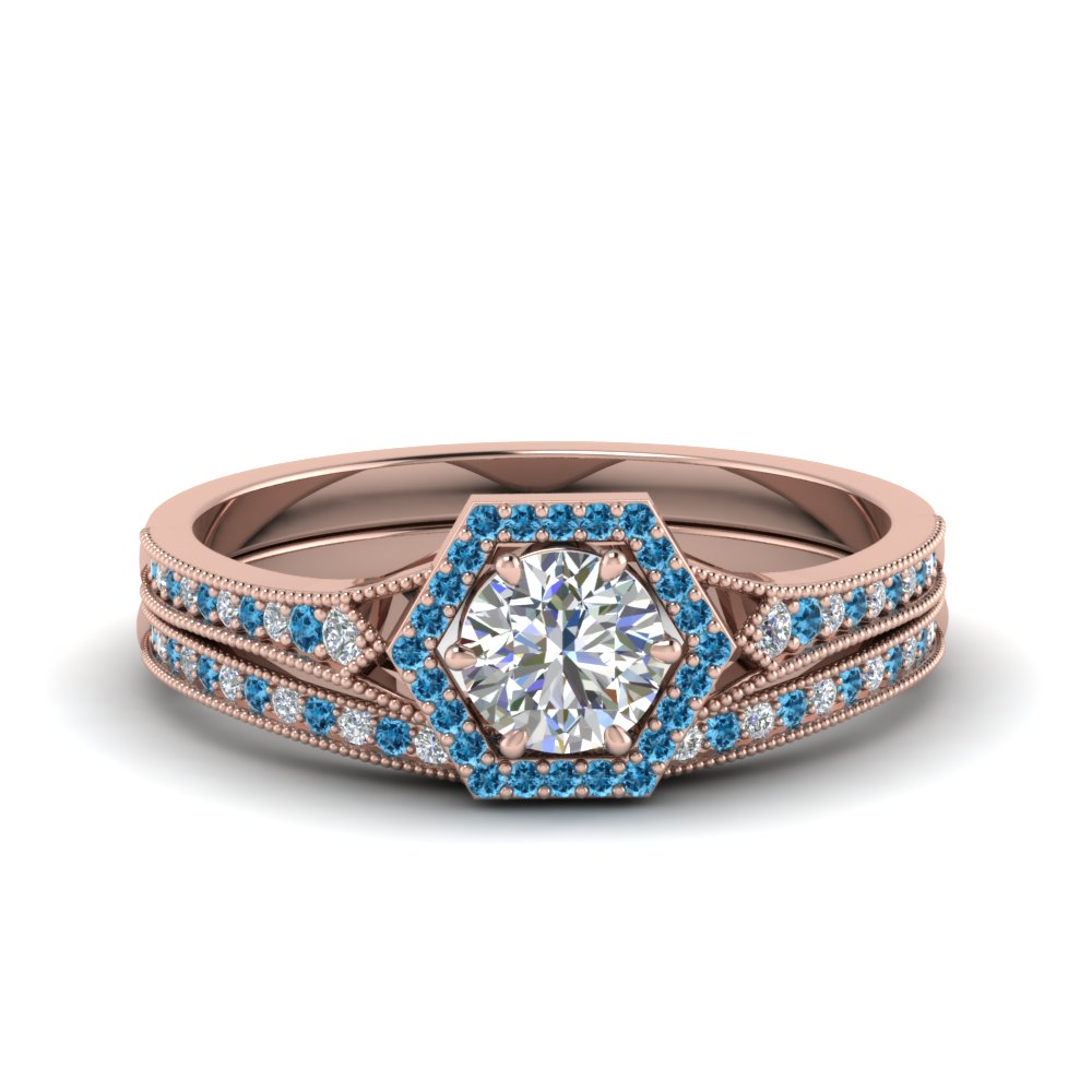 vintage-hexagon-halo-diamond-bridal-set-with-blue-topaz-in-FD8694ROGICBLTO-NL-RG