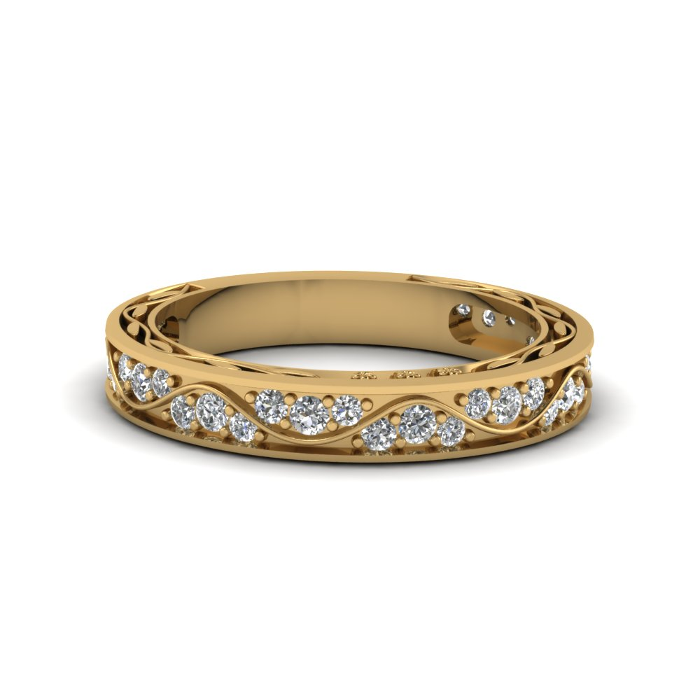 Shop Our Lovely 14k Yellow Gold Womens Wedding Rings ...