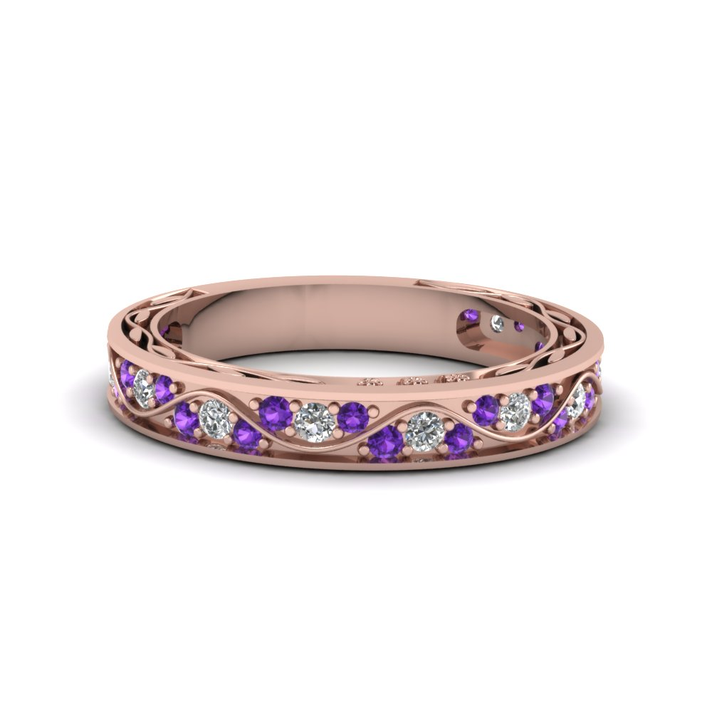 Purple Topaz Matching Band