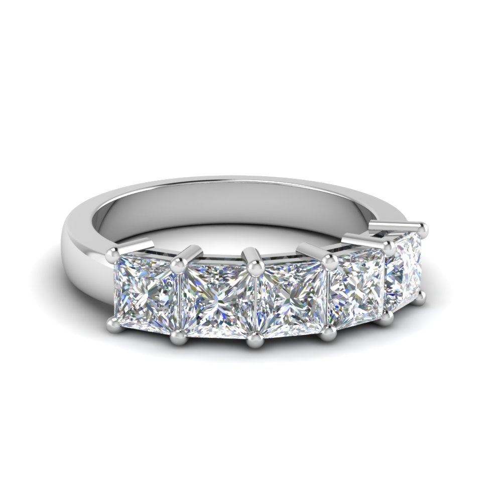 2.5 Ct. Princess Cut Diamond Ring