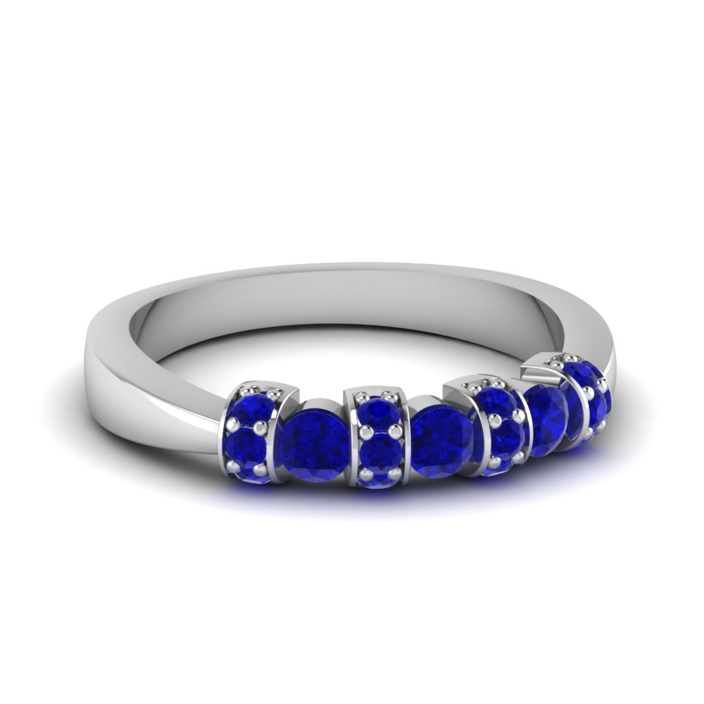 Sapphire Stackable Ring For Women