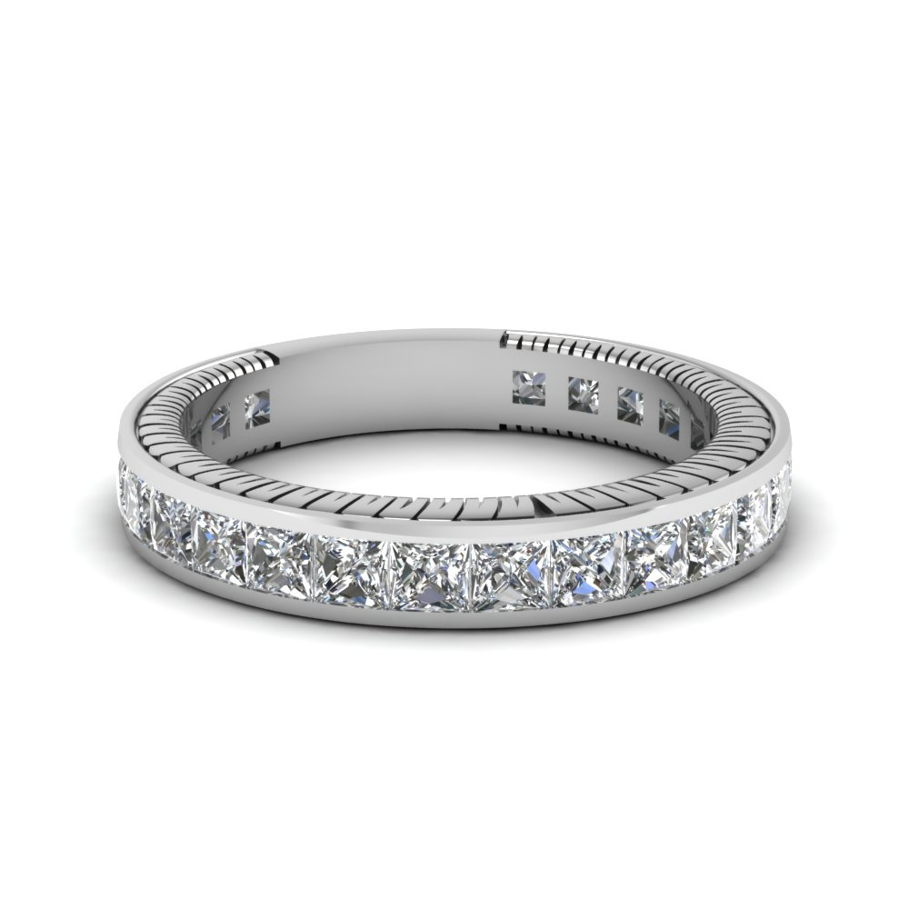 Antique Platinum Wedding Rings & Bands